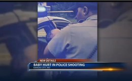 Baby hurt when officer fires weapon after nearly being run down