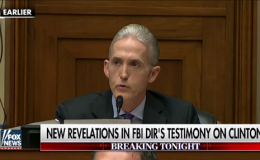Rep. Trey Gowdy: False statements proved Clinton's 'intent'