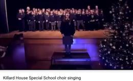 Killard House Special School choir singing Hallelujah