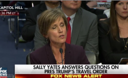 'Who Appointed You to the Supreme Court?': Senator Grills Yates For Defying Trump Travel Ban